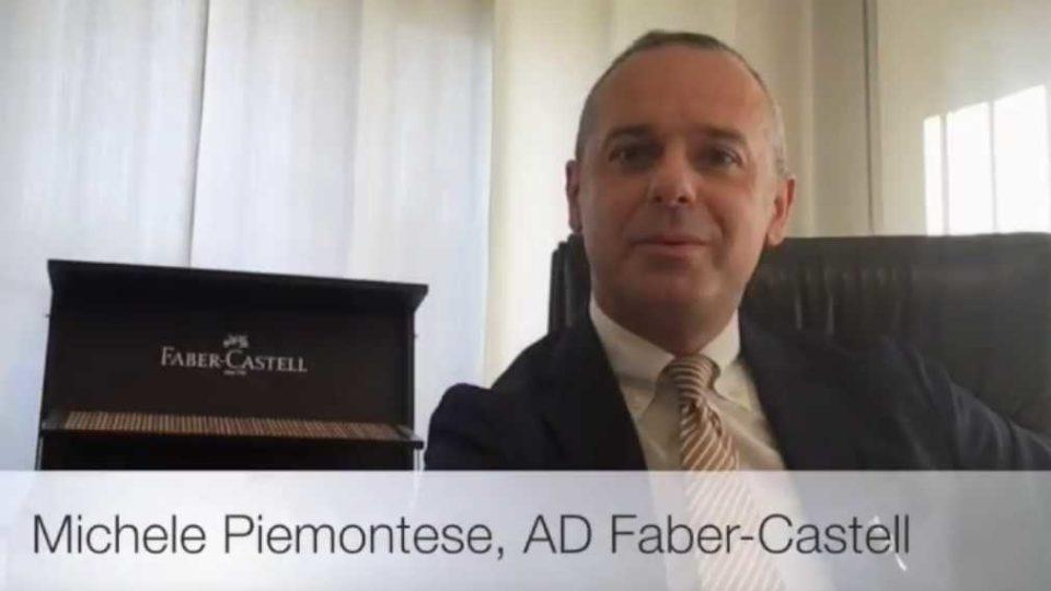 Michele Piemontese, Amministratore Delegato di Faber-Castell Italia