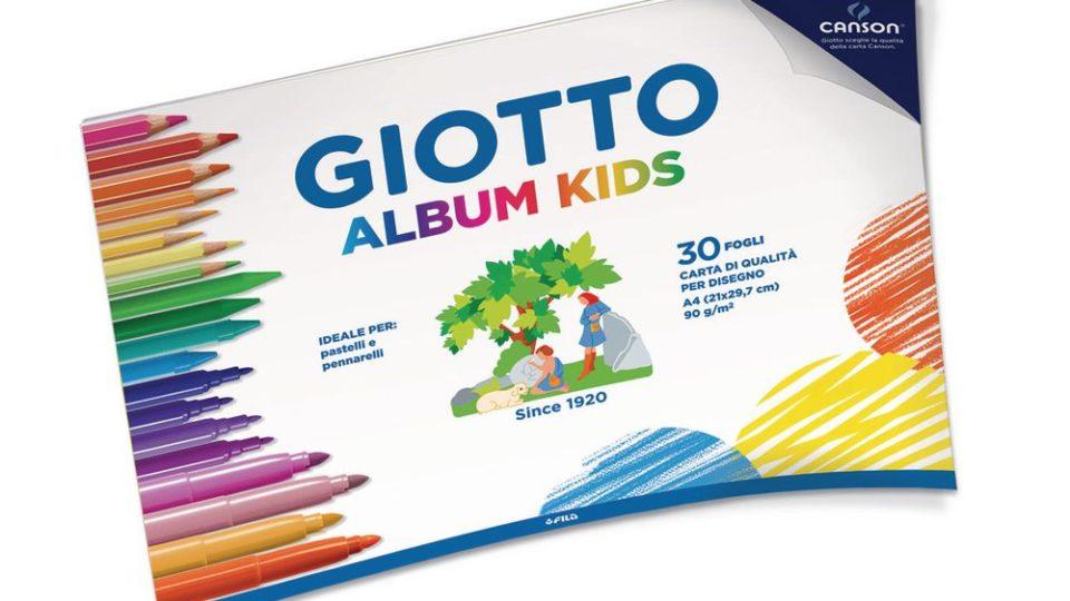 Fila Giotto Album da disegno