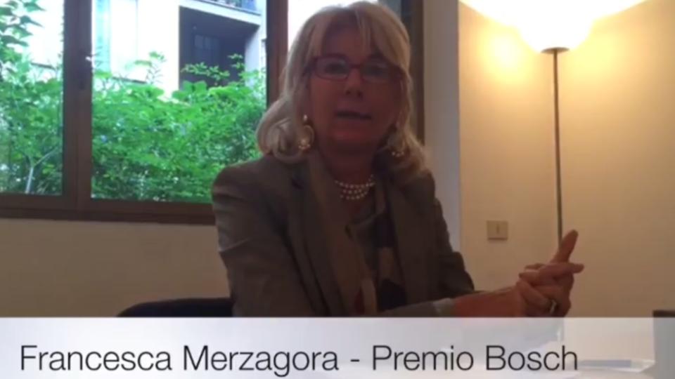 Premio Bosch: Francesca Merzagora annuncia le scuole vincitrici