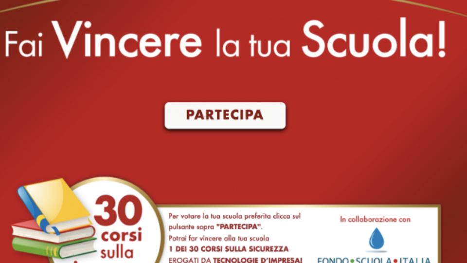 Rovagnati aiuta le scuole con Fondo Scuola Italia