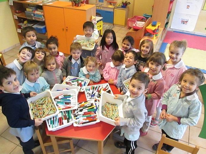 Ringraziamento della scuola dell'infanzia Pasquet