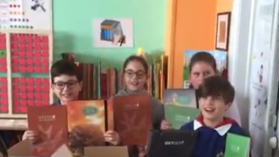 Premio Pigna – Ringraziamento Scuola D'Annunzio